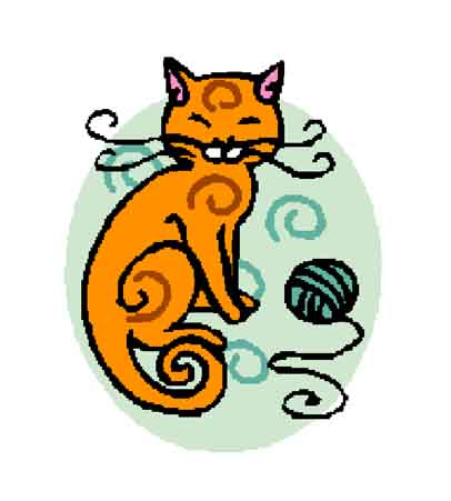 Kitty and Yarn